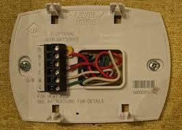 what to know about thermostat c wire? wifi thermostat Wifi Thermostat Wiring way 1 look at the wires behind the thermostat wifi thermostat wiring directions