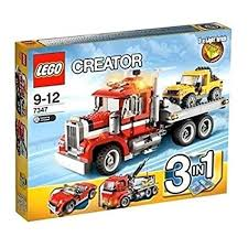 Amazon.com: LEGO CREATOR 3-in-1 Highway Semi Pickup Truck Building ...