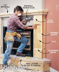 how to install a gas fireplace the family handyman photo