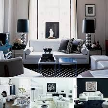14 black and white living dining room jpeg for and white home