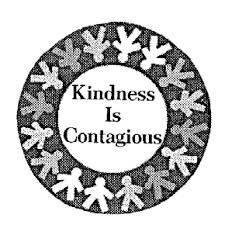 Image result for kindness is contagious kusd