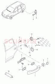 Porsche cayenne 2003 door handle door lock rear parts scuderia t7ugn33f9fp6fk8wp5tt 43836 car diagram door handle car diagram door handle