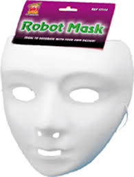 Plain White Masks To Decorate 60 Best Images of Plain White Plastic Masks Plain White 19