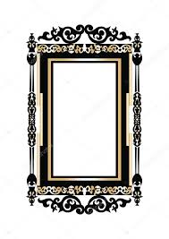 baroque golden rococo frame decor vector french luxury rich carved ornaments and wall frames victorian royal style frame vector by inagraur ymail com