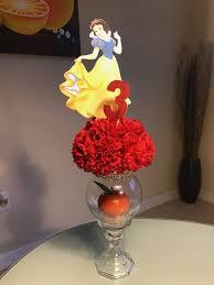 Snow White Centerpiece, Snow White Birthday by LeidyAngelinaShop on Etsy