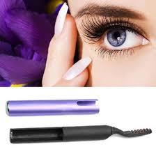 whole 2016 hot brush curler heating eyelash brush beauty tools latest portable pen style electric heated makeup eye lashes eyelash brush eyelash