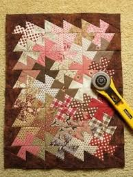 129 best Twisted Quilts images on Pinterest | Beginner quilting ... & I can't seem to stop making these fun 'Lil Twister projects! I saw it done  as a mini quilt in a quilt shop in Sacramento last week made with. Adamdwight.com