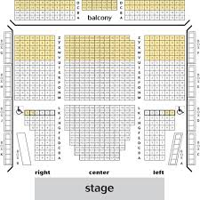 Lincoln Theatre Seating Chart Theatre In Dc