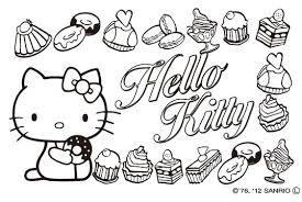 最新 ハロー キティ ぬりえ 子供と大人のための無料印刷可能なぬりえ