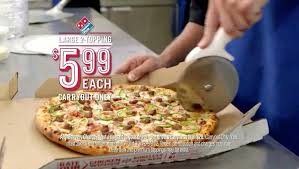 domino s pizza deal large 2 topping pizza only 5 99