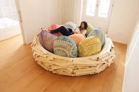 Birds Nest Bed Giant Birdsnest A Cozy Wooden Nest Designed For Humans Filled