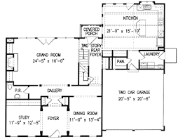 150 Square Feet Room Colonial Style House Plan 4 Beds 350 Baths 2936 Sq Ft Plan 54 150
