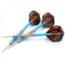 <b>CUESOUL 22</b>/24/26 <b>Grams Tungsten</b> Steel Tip Slim Darts Set with ...