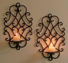 using iron wall decor at