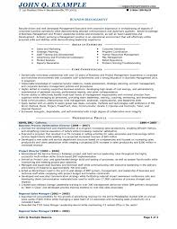 Small business resume