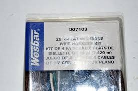 wesbar 25 039 4 flat wishbone wire harness kit 007103 wesbar 25 4 flat wishbone wire harness kit 007103