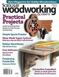 scroll saw woodworking crafts issue 58 spring 2016