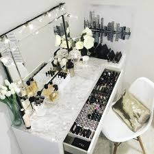 Makeup Table Pinterest Claudiagabg Makeup Organization Pinterest