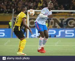 Bern, Schweiz, 14. September 2021, Paul Pogba von Manchester United während  der UEFA Champions League, Gruppenphase, Gruppe F Fußballspiel zwischen Young  Boys Berne und Manchester United am 14. September 2021 im Stade