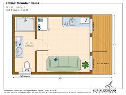 cabin floor plans 12 x 14 1 bedroom cabin floor plans