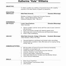 Sample Resume Retail Sales Associate No Experience Elegant 43