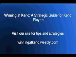 Keno Smart Charts Free Winning Keno Strategy