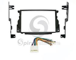 radio stereo mounting installation dash kit combo double din wire Car Stereo Wiring Harness Adapters at Stereo Mounting Kit And Wiring Harness