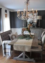 gray dining rooms on dining the rocking horse is a bit much but otherwise i love it