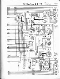 rambler wiring diagrams the old car manual project 1963 rambler 6 v8 classic