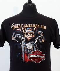 vintage 80s harley davidson soft 3d emblem t shirt medium biker ebay