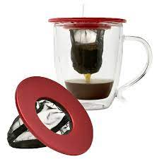 Our 304 stainless steel coffee filter won't absorb the oils and nutrients from coffee beans, so you can enjoy the true flavor. Coffee Brew Buddy Single Cup Coffee Maker Primula Camping Coffee Maker Single Cup Coffee Maker Camping Coffee