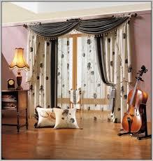 endearing double rod curtains and double curtain rod ideas