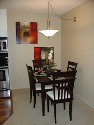 fine small e dining room decor with cherry wooden dining sets for 4 under ceiling lights fixtures designs