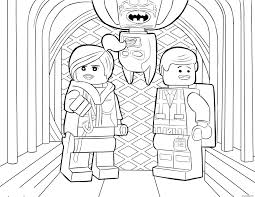 Coloriage Lego Batman Sheet Dessin