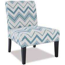 fiona blue accent chair