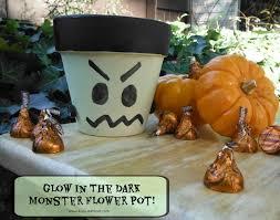 rust oleum glow in the dark paint flower pots. glow in the dark monster flower pot rust oleum paint pots