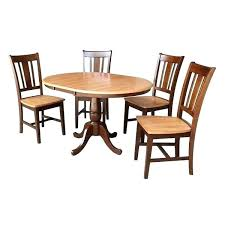 36 round kitchen table set round dining table with leaf and 4 chairs 36 inch dining