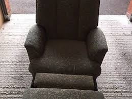 knoll egg chair. PARKER Knoll Swivel/tilt Statesman Egg Chair Black Vinyl