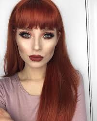 make up ideas red hair