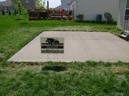 plain concrete patio. Patio After Plain Concrete I