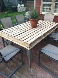 new diy wood pallet outdoor furniture or outdoor pallet dining table 53 diy  wooden pallet outdoor