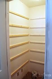 shelves how to build closet mdf pantry