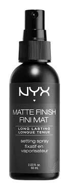 5nyx cosmetics matte finish makeup setting spray 5 99