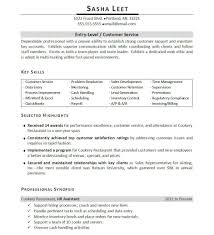 Resume Highlights Examples Entry Level Management Resume Examples Examples Of Resumes 15