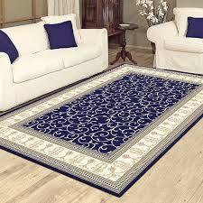 charisma 10895 traditional rug dark blue
