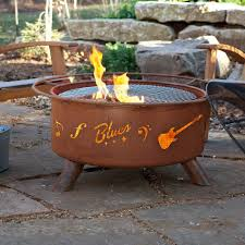 Millwood Pines Jeanlouis Music Steel Wood Burning Fire Pit Reviews Wayfair