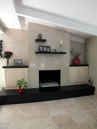 contemporary fireplace surround and raised hearth stone savvy