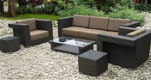 resin wicker patio set clearance