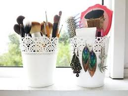 image is loading conner makeup brushes plant pot skurar ikea off