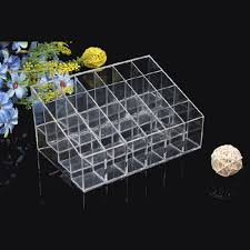 Lipstick Display Stands 100 Lipstick Holder Display Stand Clear Acrylic Cosmetic Organizer 72